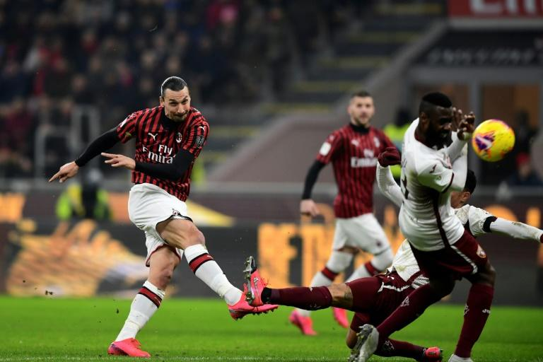 Zlatan Ibrahimovic scored a double for AC Milan last time he played Inter in the league eight years ago