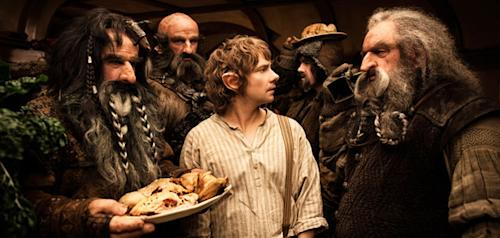 Comic-Con 2012: Peter Jackson reveals new footage from 'The Hobbit'