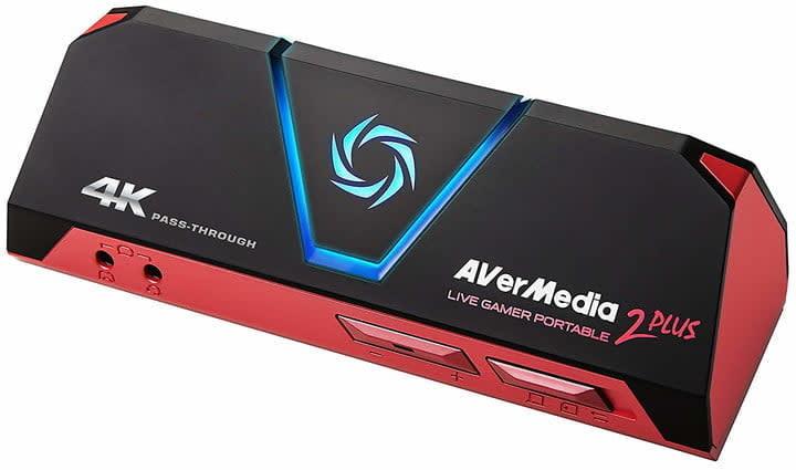 AverMedia Live Gamer Portable 2 Plus capture card