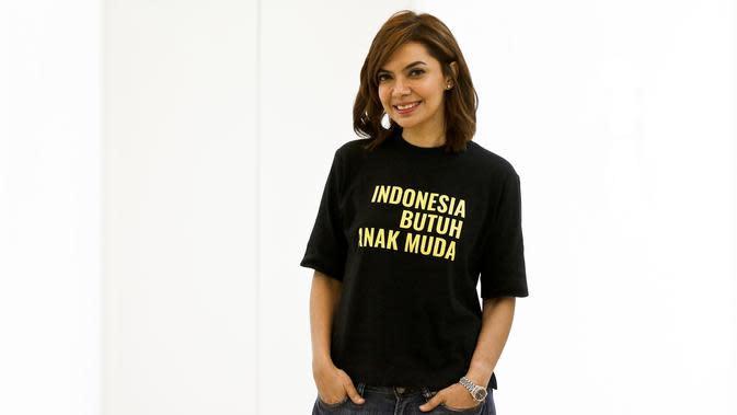 Najwa Shihab bicara gerakan Indonesia Butuh Anak Muda. (Liputan6.com/Johan Tallo)