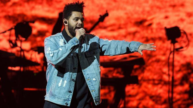 The Weeknd (Foto: AFP / SUZANNE CORDEIRO)