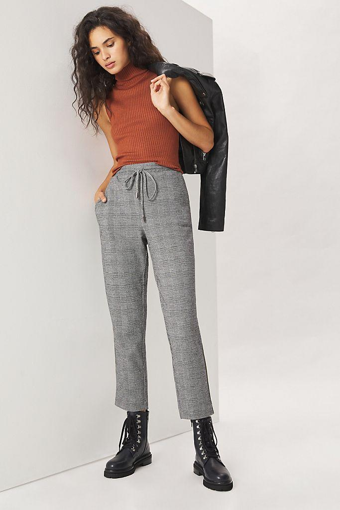 Bettie Tapered Trouser Joggers. Image via Anthropologie.