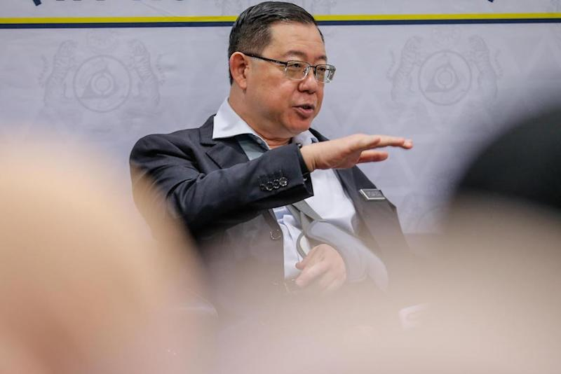 Lim was yesterday reported to have asked the AGC to lift the restrictions on the bank accounts of the prominent property tycoon, frozen over some RM4 million worth of transactions in 1MDB-linked funds, despite failing to recover the bulk of the money. — Picture by Hari Anggara