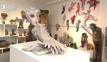 台南阿貴美術館 許自貴的立體繪畫
