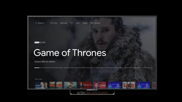 Android TV on Google Chromecast