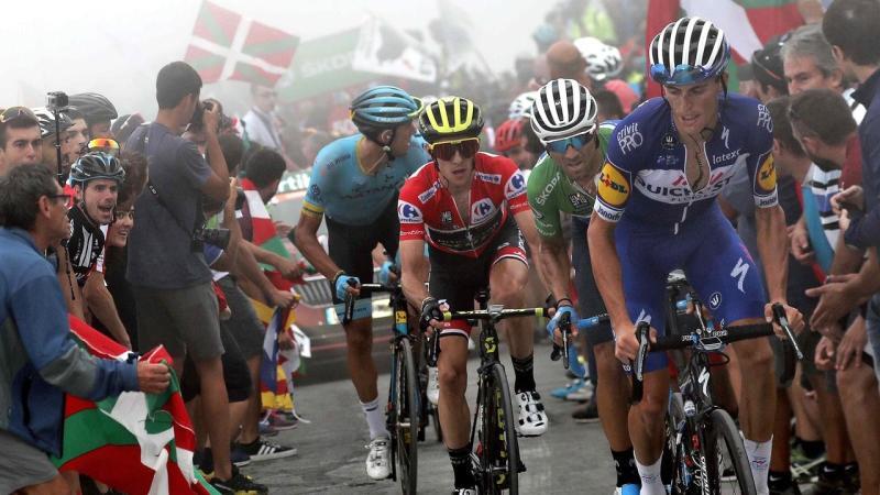 SPAIN CYCLING VUELTA A ESPANA