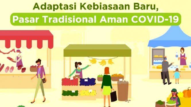 Cegah Penyebaran Corona, 5 Ribu ASN Awasi Pasar di Jakarta