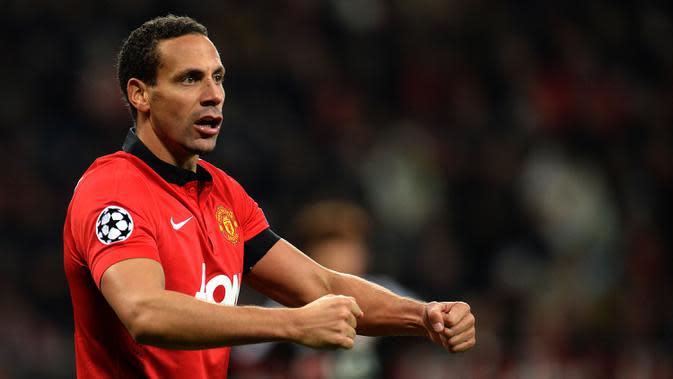 Rio Ferdinand. (AFP/Patrik Stollarz)