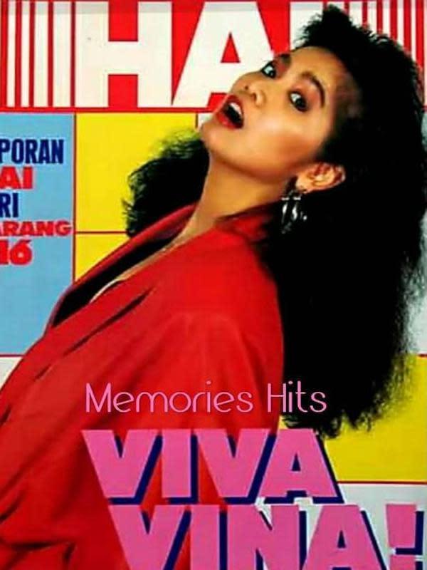 Vina Panduwinata saat jadi sampul majalah. (Instagram/@memories__hits)