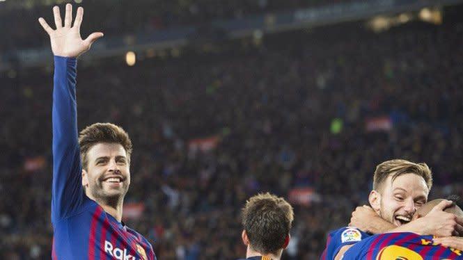 Gerard Pique, Tangguh Bersama Barcelona 'Korban' Bully di MU