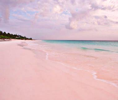 World 39 s strangest beaches for Pink sands harbour island bahamas