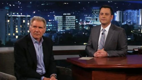 Harrison Ford to Chewbacca: 'You're So Full of $#@%'