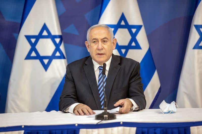 Israel's Netanyahu condemns protests against him, criticises media