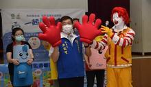 洪瑞智深入校園宣導 正確洗手遠離腸病毒