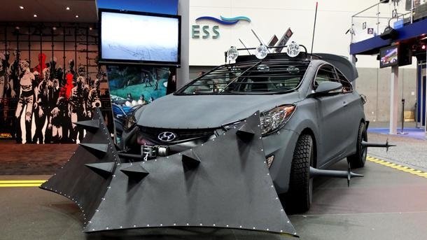 "Zombie Survival Machine from ""The Walking Dead"" brought to half-life by Hyundai"