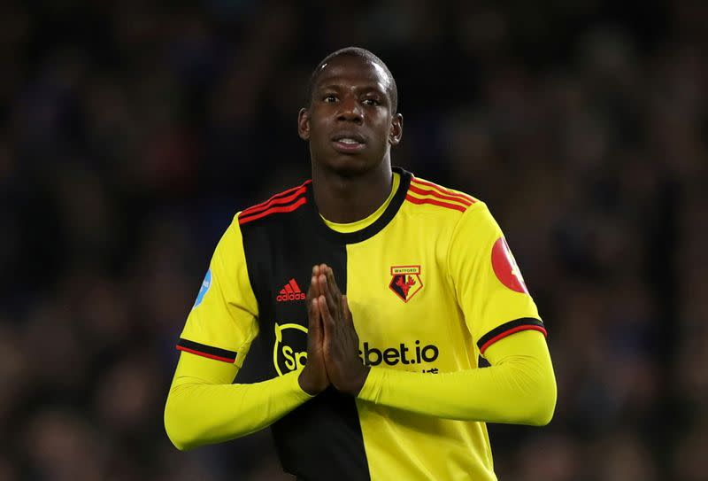 Everton sign midfielder Doucoure from Watford