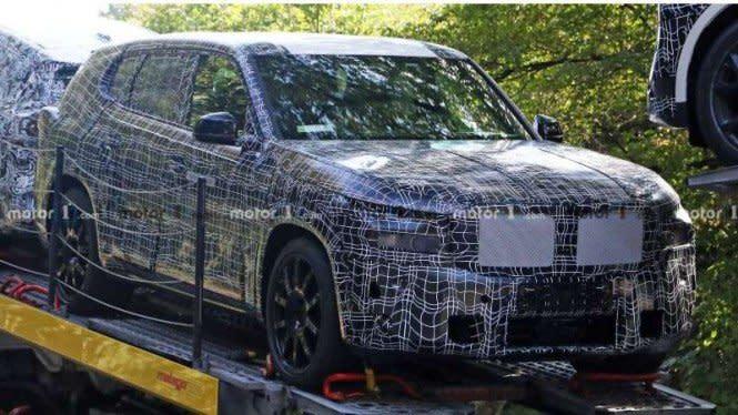 Mobil Mewah Bongsor Buatan BMW, Tepergok Lagi Diuji Jalan