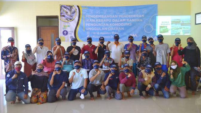 IPB Beri Pelatihan Budidaya Ikan Kerapu Bagi Masyarakat di Pulau Kelapa Dua