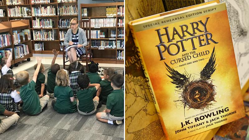 Harry Potter books removed from U.S. school library