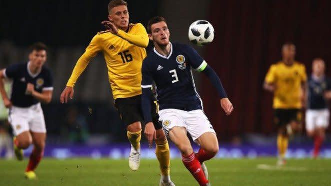 Kapten Timnas Skotlandia, Andrew Robertson