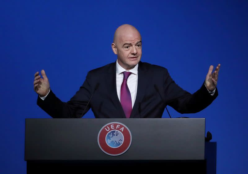 FIFA's ethics committee clears Infantino after investigation