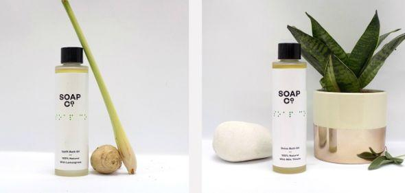 A woman has taken to social media after discovering the Braille on Soap Co bottles isn't tactile [Photo: Soap Co]