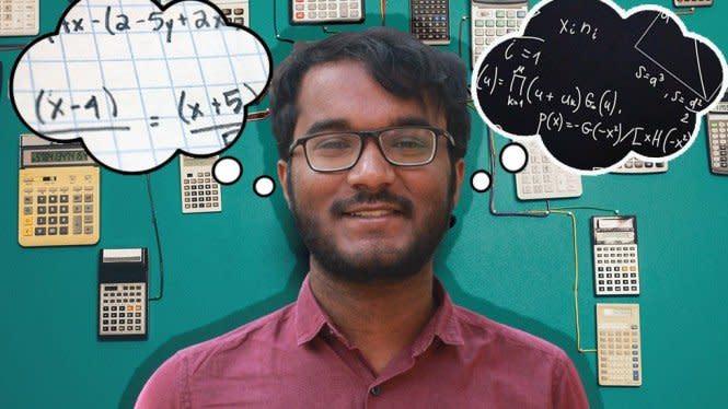 Pria India ini jadi Kalkulator Manusia Tercepat di Dunia