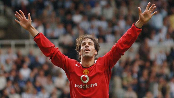 Ruud van Nistelrooy. (AFP/Paul Barker)