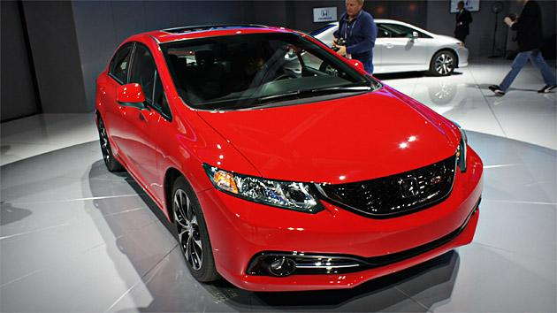 2013 Honda Civic nipped, tucked and ready for its closeup