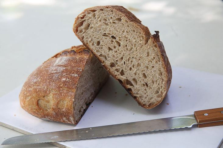 The Country Emmer has very little gluten with the use of the ancient grain