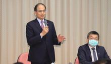 游錫堃:台商走入國際脫穎而出 比在中國更具優勢 (圖)