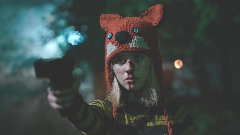 Lulu Wilson plays the title role in 'Becky'. (Credit: Vertigo Releasing)
