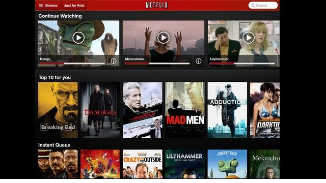 Netflix Adds HD and AirPlay Streaming Support to Apple iOS Apps
