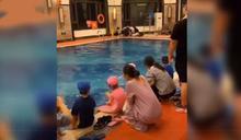 6歲童學游泳掙扎10分鐘溺斃 教練沒點名渾然不知