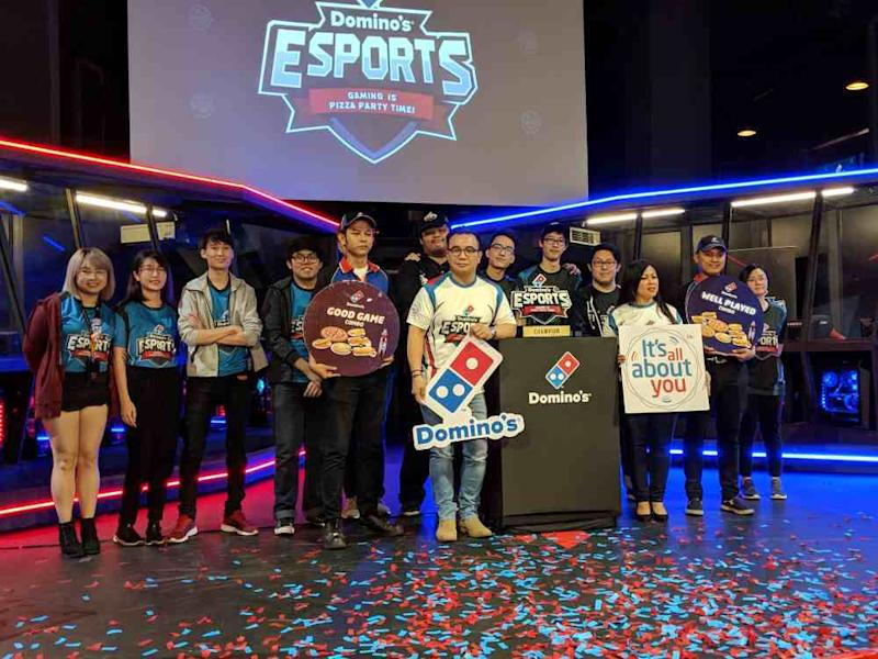 Malaysia e-sports athletes who win the gold medal in their respective events in the SEA Games 2019 will get a 10-year supply of free pizzas from Domino's Pizza. ― Picture via Facebook/Domino's Pizza Malaysia