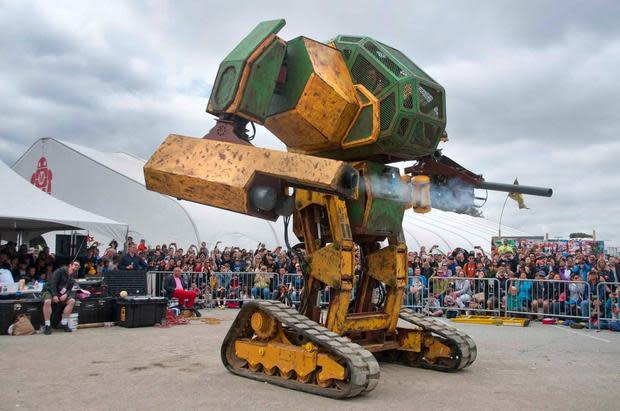 America challenges Japan to real-life battle of giant robots