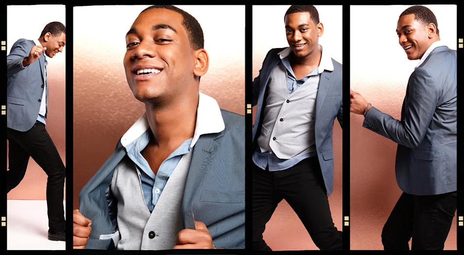 "Joshua Ledet competes in ""American Idol."""