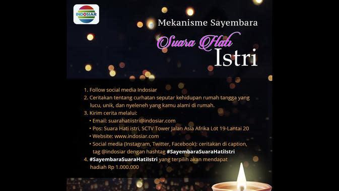 Sayembara Suara Hati Istri di Indosiar