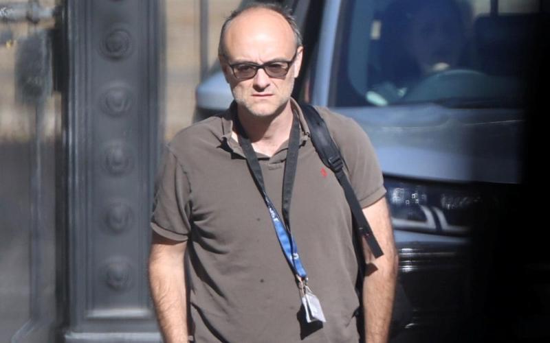 Dominic Cummings has been a long-term critic of the civil service - Simon Dawson/Reuters