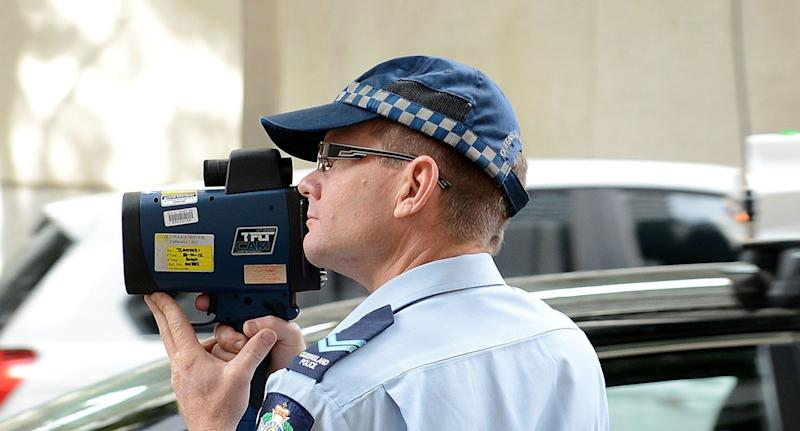 Demerit points for certain offenders are in place all year round in Queensland. Source: AAP