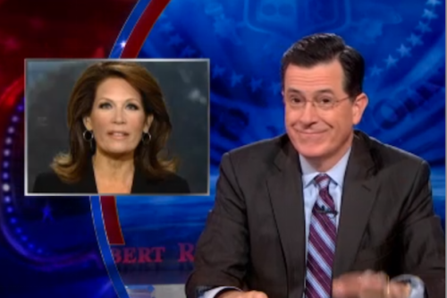 Stephen Colbert: Obamacare Makes Michele Bachmann Look Like a Genius (Video)
