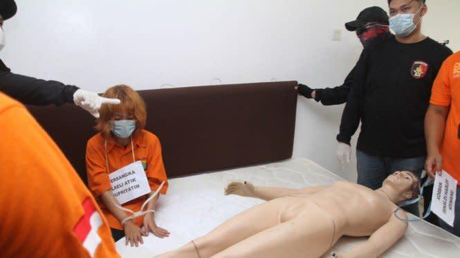 Terungkap, Mutilasi Jenazah Rinaldi Dilakukan Dalam 2 Hari