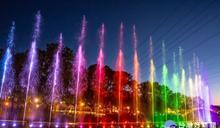 慈湖水岸經典演唱會暨水舞秀開幕 提供遊客另類體驗