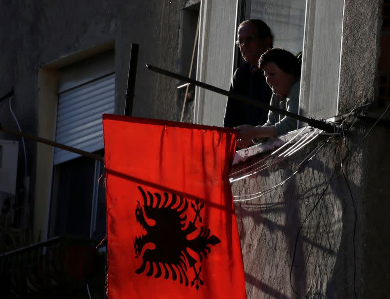 Albania lifts curbs on driving, slashes curfew in green zones