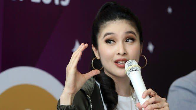 Cerita Sandra Dewi, Pakai Skin Care dari ABG Biar Ditaksir Cowok