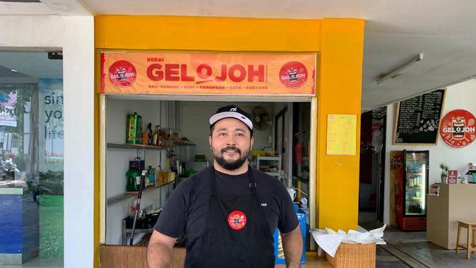 Toma Pratama, salah satu pemilik kedai olahan kambing, Gelojoh. (dok. istimewa)