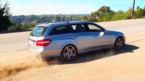 Amusing yourself with a 550-hp station wagon: Motoramic TV
