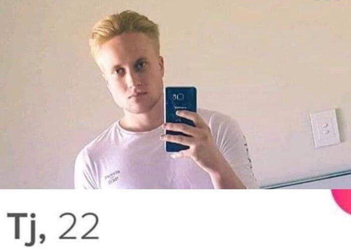 Trent Thorburn alleged Tinder profile image.