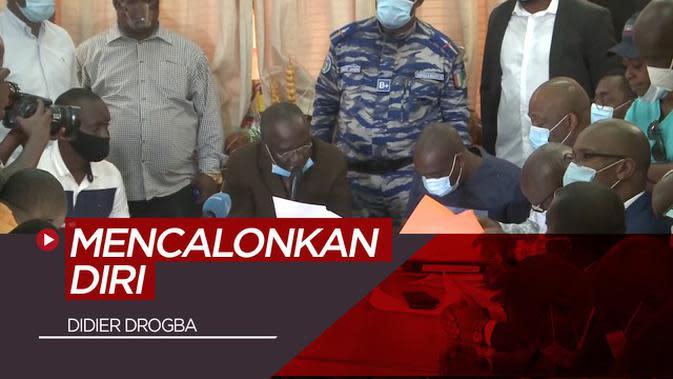VIDEO: Didier Drogba Calonkan Diri Jadi Presiden Federasi Sepak Bola Pantai Gading