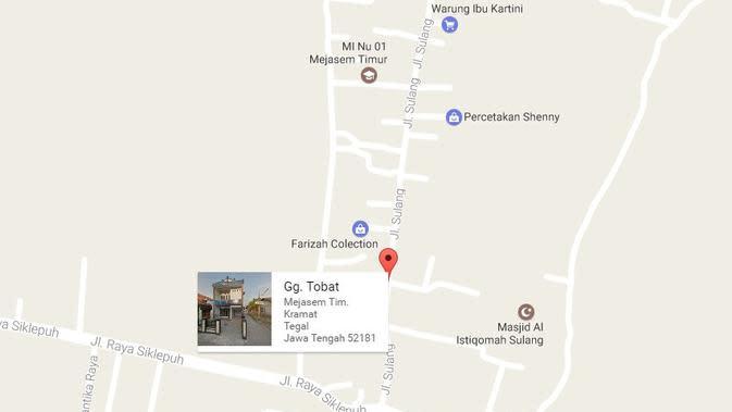 Nama jalan dan gang yang bikin tepuk jidat, kocak banget! (Sumber: Twitter/@hati2diInternet)